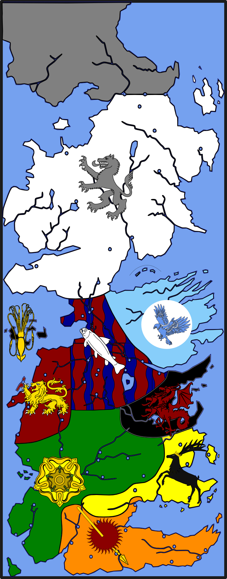 seven kingdoms  a wiki of ice and fire -