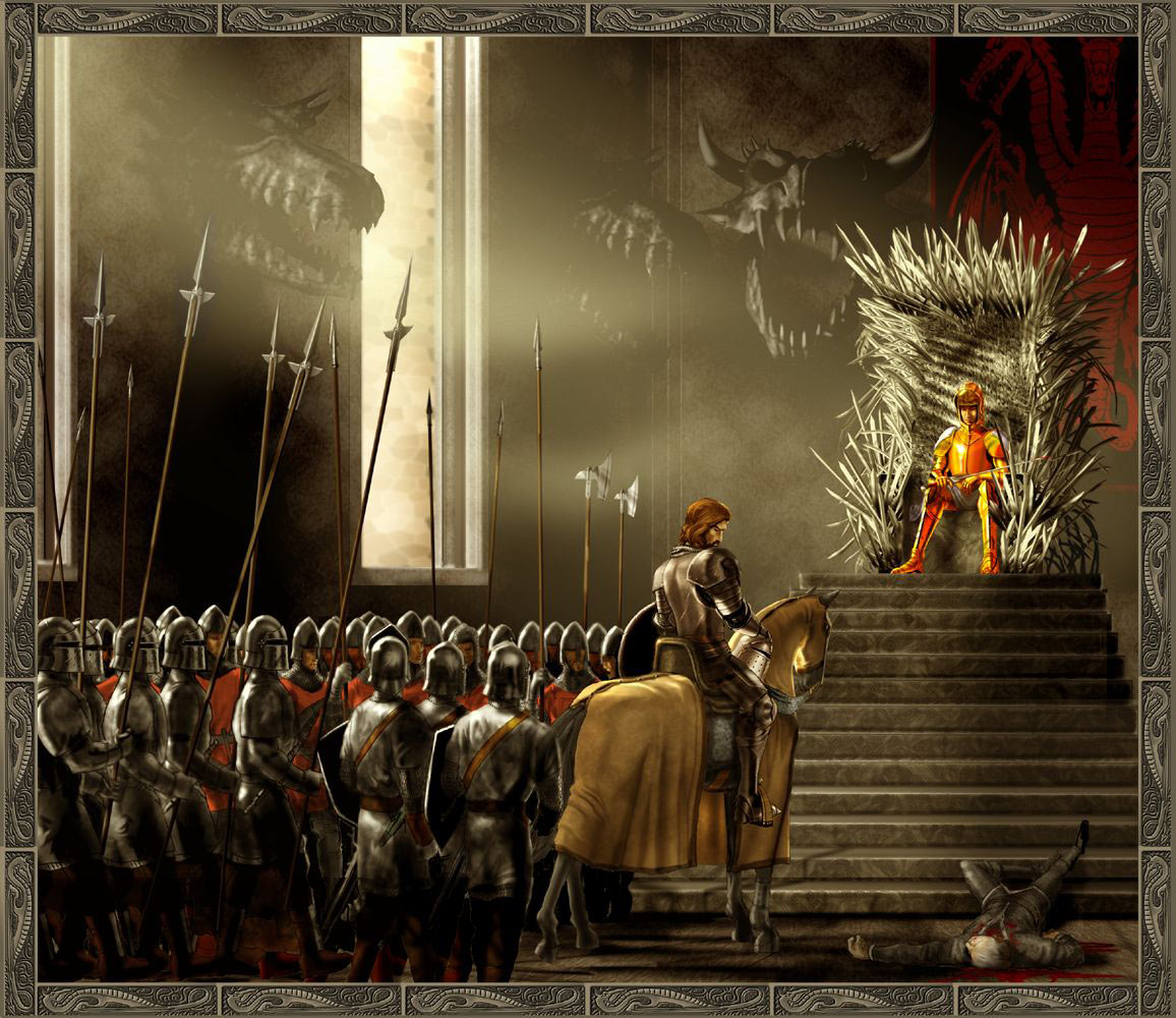 Iron Throne Room Game Of Thrones