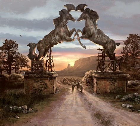 File:Vaes Dothrak Horse Gate by Kim Pope.jpg