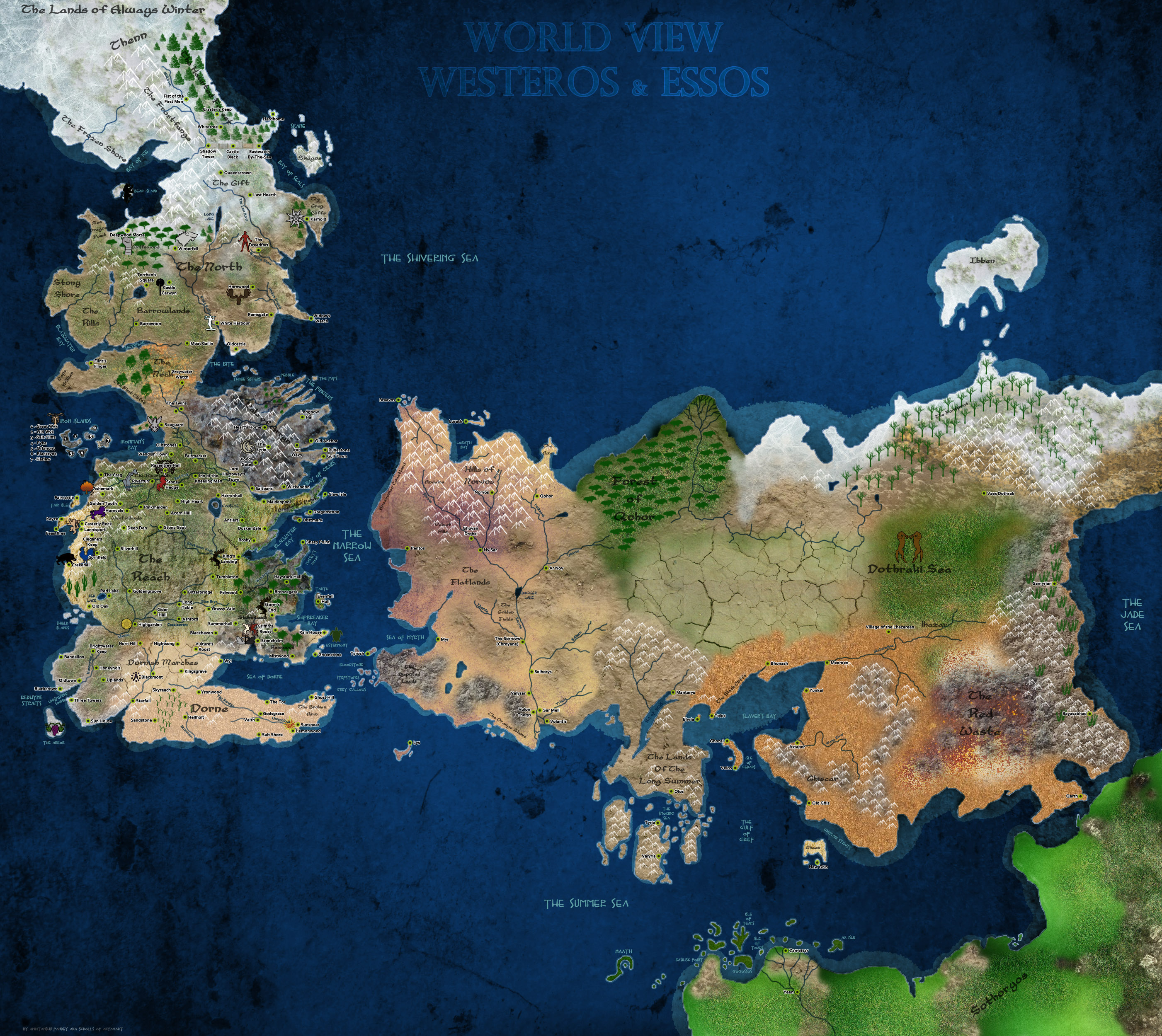 P.O Game of Thrones. - Página 2 Map_of_Ice_and_Fire