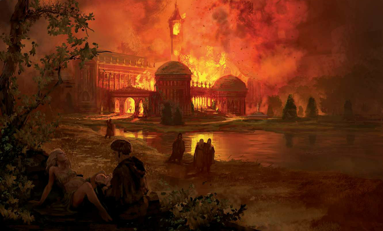 Marc Simonetti The fire at the summer palace - ریگار کیست و چرا مهم است؟