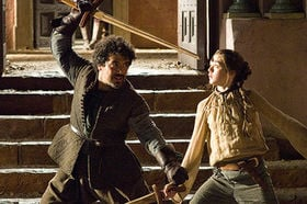 File:Syrio and Arya.jpg