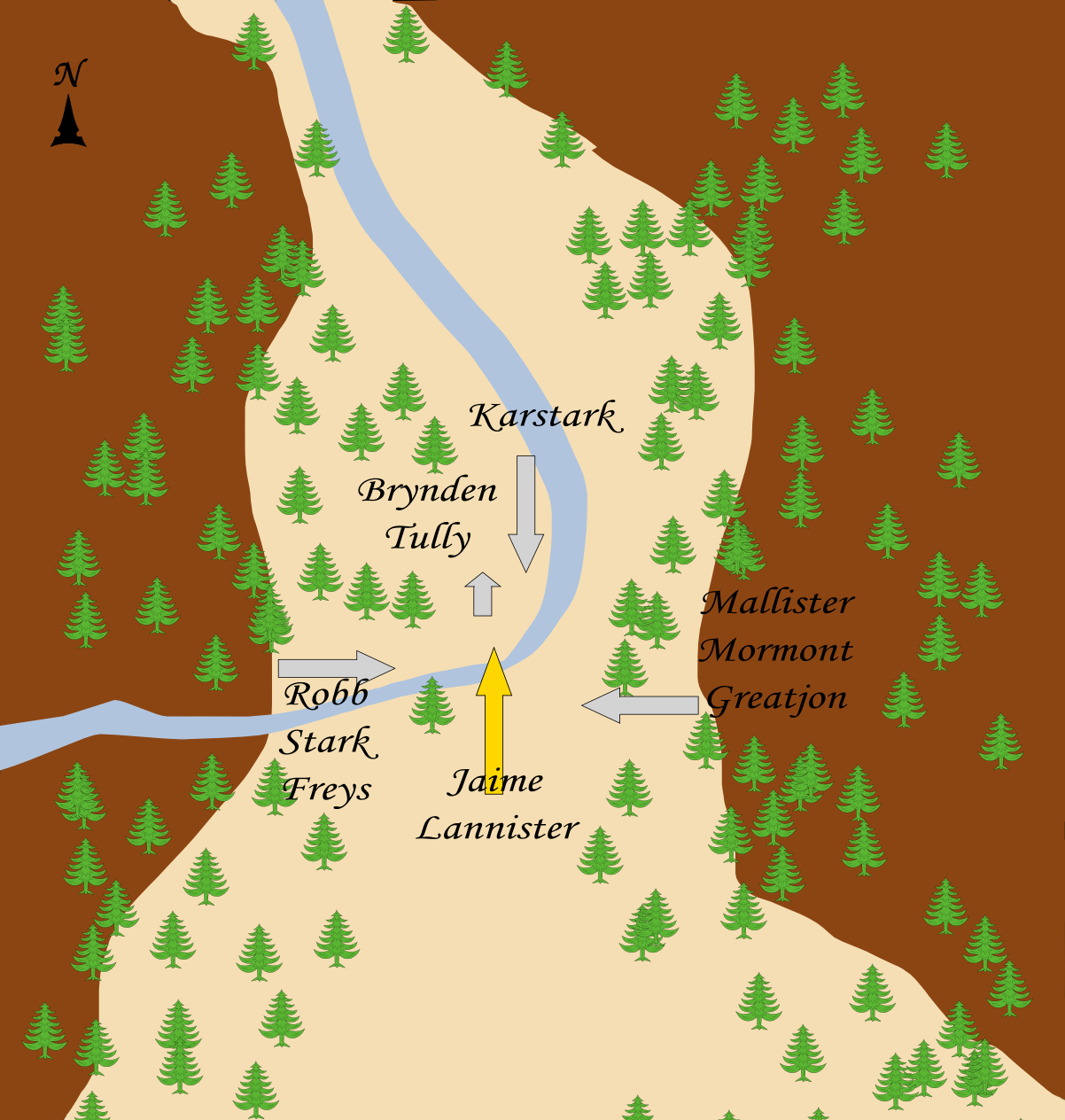 Battle in the Whispering Wood - A Wiki of Ice and Fire