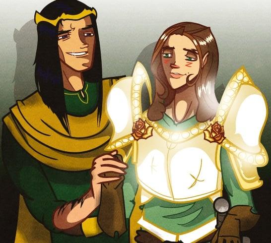 Ser Loras Tirel - Vitez od Cveća Sir_Heartsalot_RenlyLoras