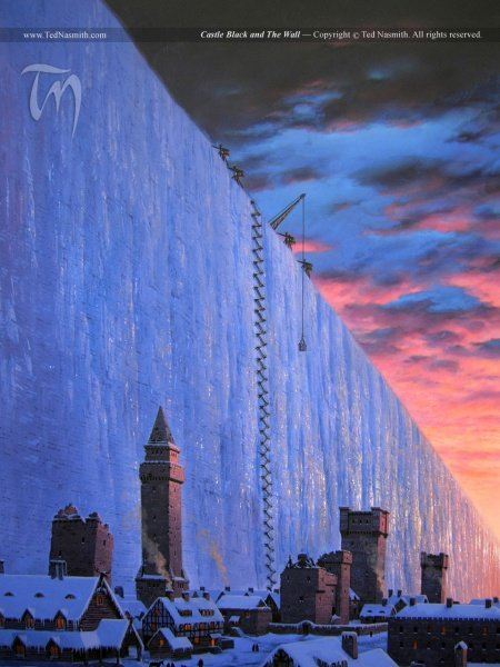 File:Castle Black and The Wall, Ted Nasmith.jpg