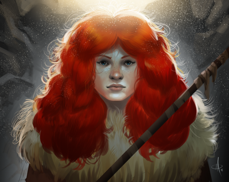 File:Ygritte re do by mattolsonart-d77yurd.png