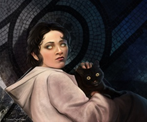 The Cat Arya Chased Was Rhaeyes S