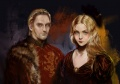 Tywin and joanna lannister by berghots.jpg