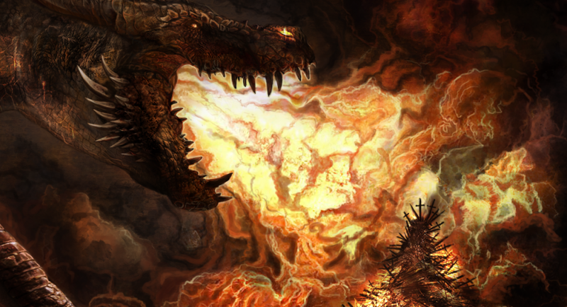 File:Balerion by Earthenblood Iron Throne is forged II.png