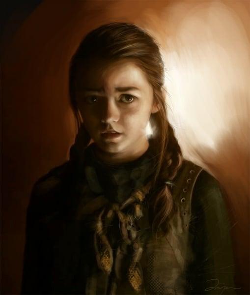 File:Arya Stark by AniaEm.jpg