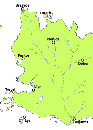 Hills of Norvos is located in Free Cities