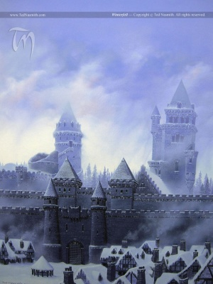 Ted Nasmith A Song of Ice and Fire Winterfell.jpg