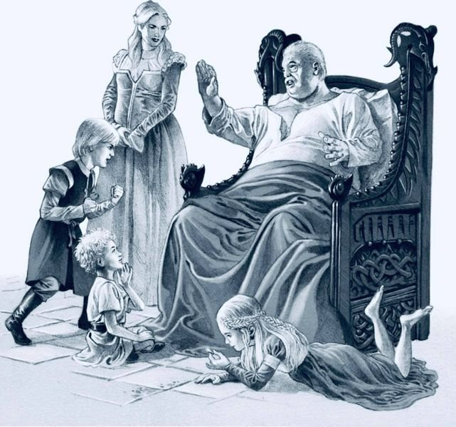 File:Viserys with his grandchildren.jpg