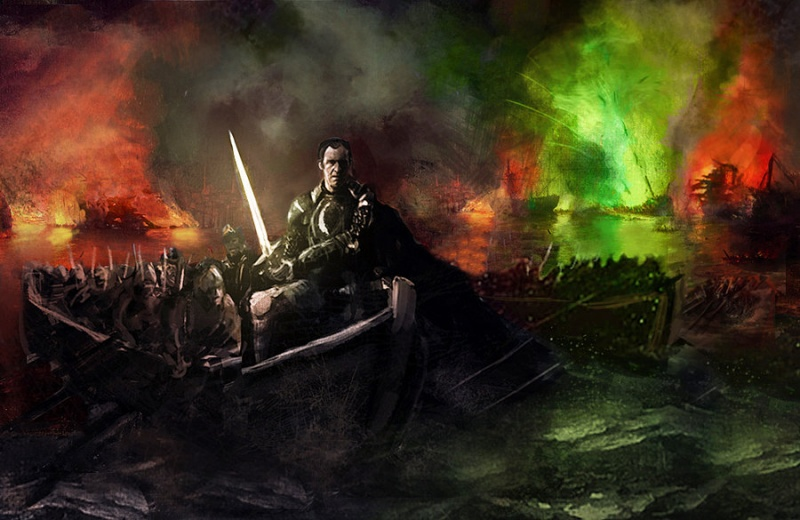 File:Stannis Baratheon with Lightbrighter at Blackwater by WillHarrisArt.jpg