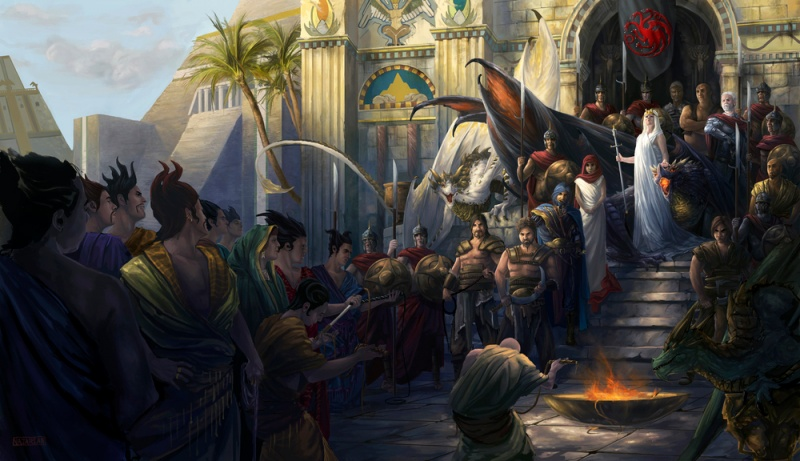 The End of the Twins Cycle - Page 9 800px-SurrenderOfMeereen_by_StephenNajarian