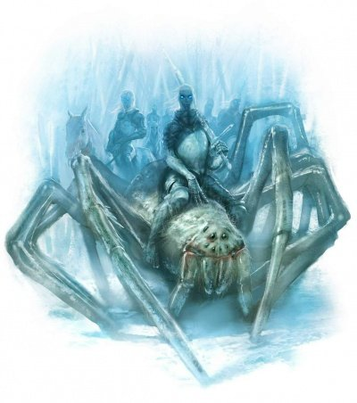 Giant ice spider - A Wiki of
