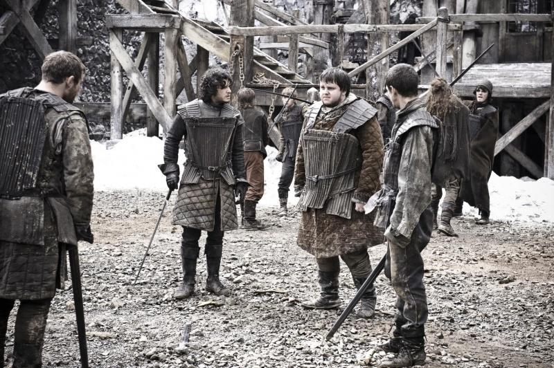 File:Jon Snow Samwell Pypar Grenn Training Castle BlackHBO.jpg