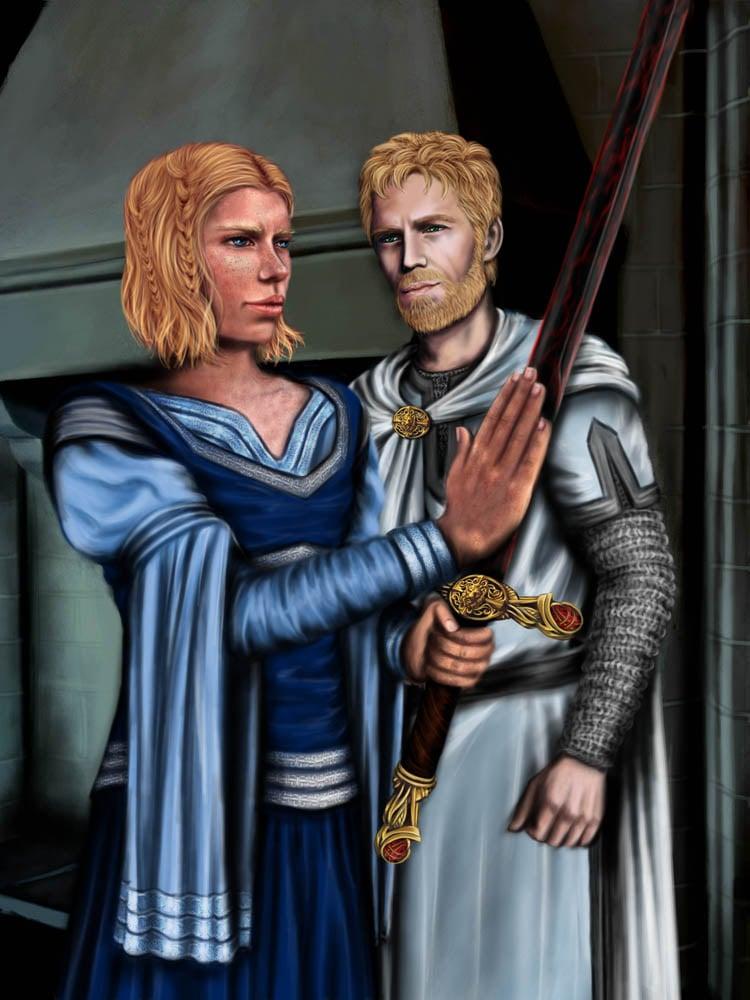 Brienne of Tarth Oathkeeper Schaumstoff Schwert Replik Game of Thrones