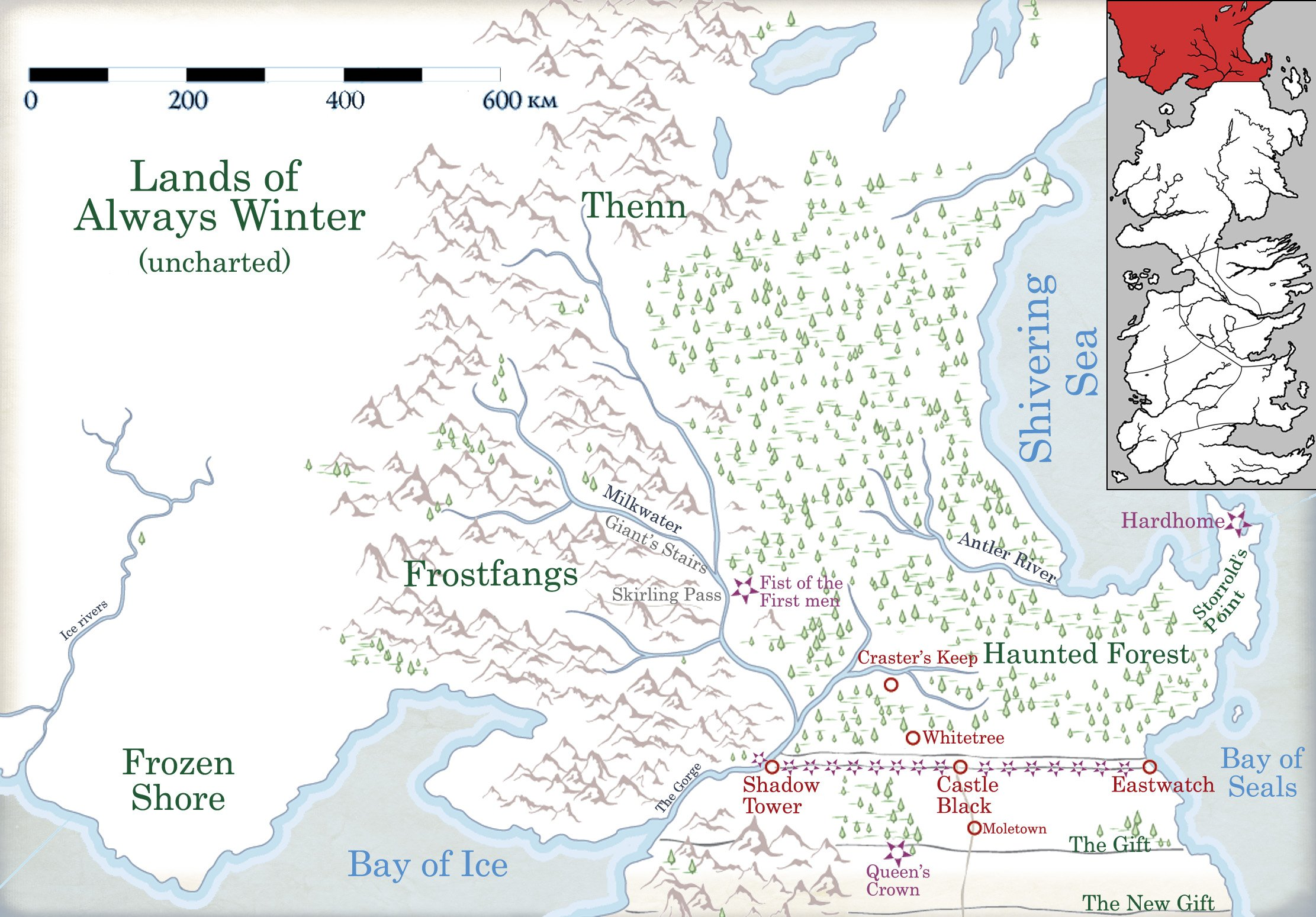 Northbay Fire Map.Frostfangs A Wiki Of Ice And Fire