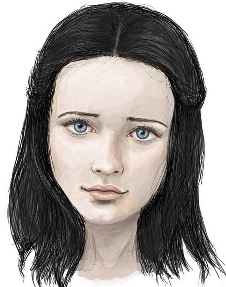 Dark haired girl from new york - 2 3