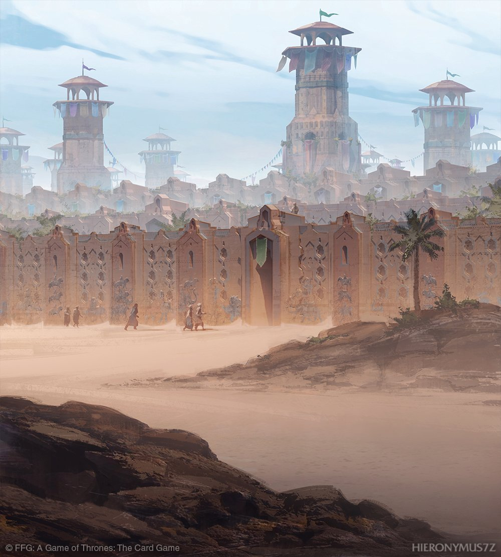 Triple walls of Qarth - A Wiki of Ice and Fire