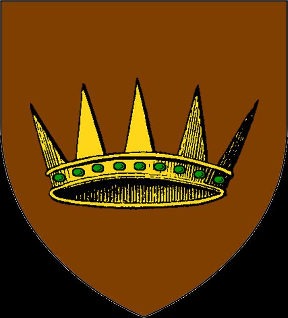 A golden crown - 3 8