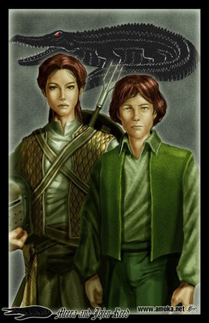Meera and Jojen Reed by Amok©