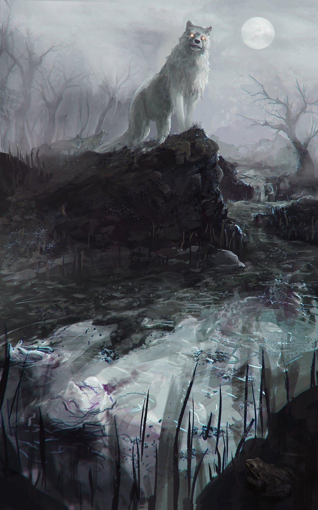 nymeria  direwolf