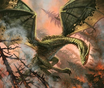 Rhaegal a hidden agenda by christopherburdett.jpg