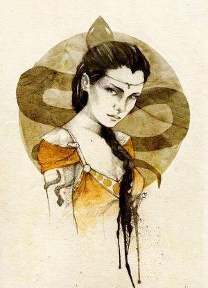 Nymeria sand by elia illustration-d5gu94l.jpg