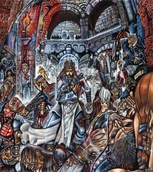 Red Wedding Artistic Depiction By Fatherstone