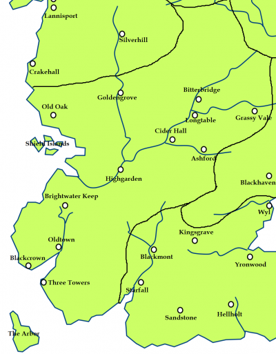 The Reach and the location of Honeyholt
