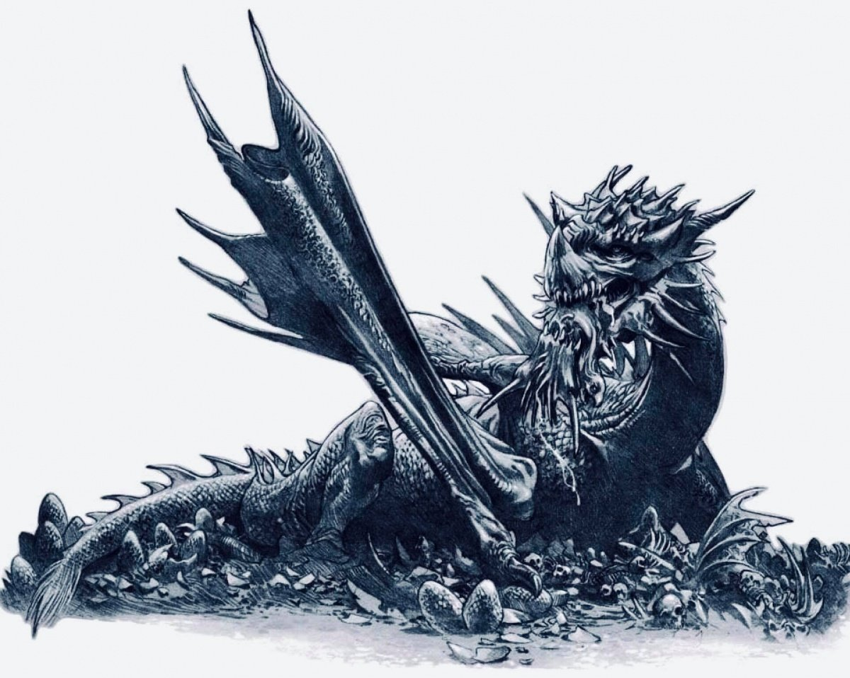 Cannibal (dragon) - A Wiki of Ice and Fire