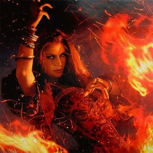Image result for melisandre stares into the flame art